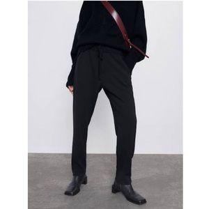 ZARA Basic drawstring jogger pants